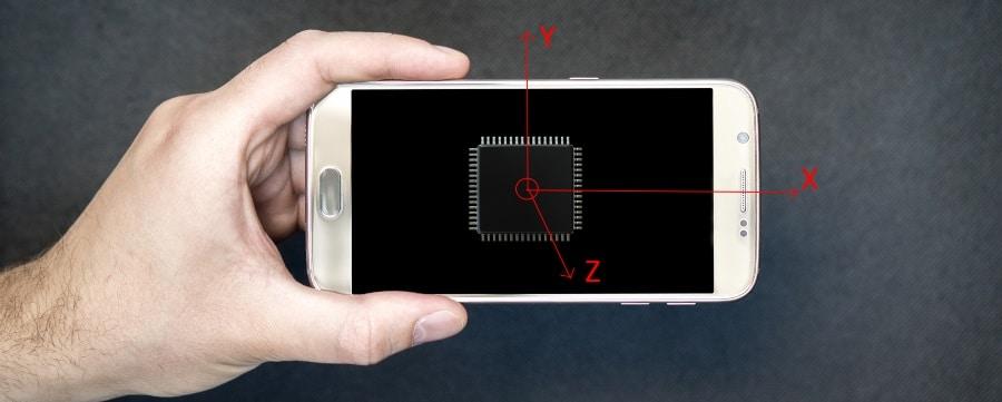 IMU on smartphone